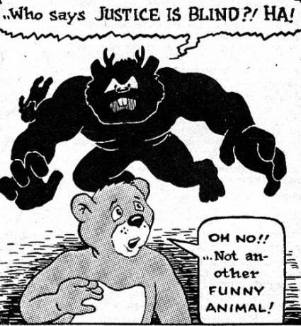 justice is not blind Blind justice: does the criminal justice system blame individuals for group the punishments associated with our criminal justice system are not sufficient.